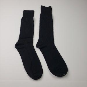 NWOT Black Argyle Dress Socks Bundle